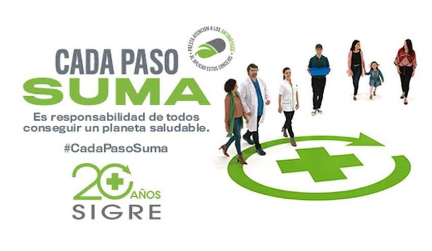 SIGRE lanza su nueva campaña de sensibilización con el lema 'Cada paso suma'