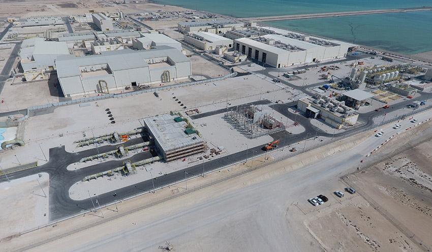 ACCIONA finaliza las pruebas de la ampliación de Umm Al Houl, la mayor desalinizadora de ósmosis inversa de Catar