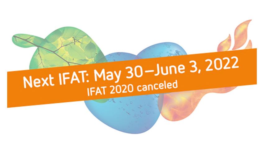 IFAT 2020 se cancela finalmente