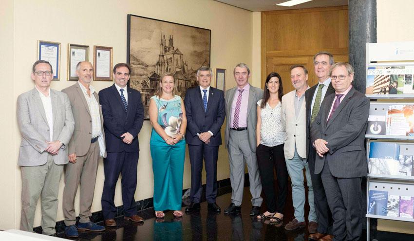 El CABB apoyará un aula para fomentar la innovación en la Escuela de Ingeniería de Bilbao