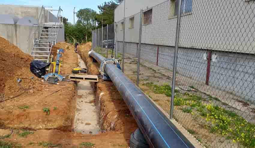 Termina la remodelación de la depuradora de Santa Eulalia des Riu en Ibiza