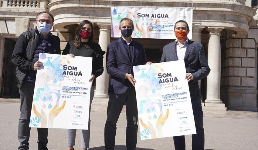 El Ayuntamiento de Valencia y Global Omnium impulsan diferentes actividades por el día Mundial del Agua