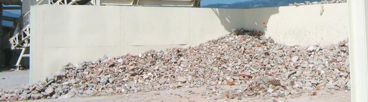 La Agencia de Residuos de Cataluña fomenta el uso de áridos reciclados en las obras de 90 entidades locales