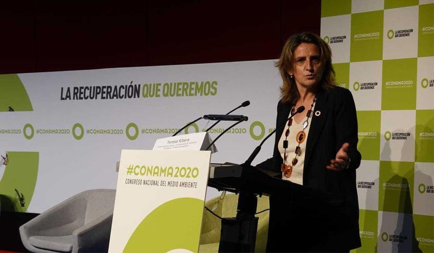 Teresa Ribera reivindica la necesidad de una sociedad crítica para avanzar en sostenibilidad
