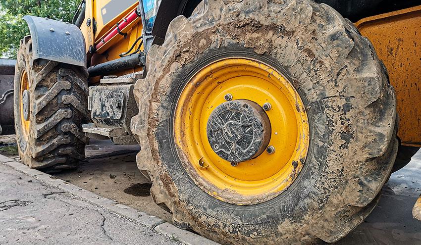 Comienza la gestión de neumáticos fuera de uso con diámetro superior a 1.400 mm