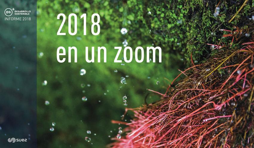 SUEZ presenta su Informe de Desarrollo Sostenible 2018