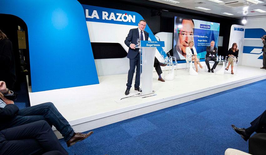 """Angel Simón: """"El sector del agua en España necesita un marco estable y seguridad jurídica"""""""
