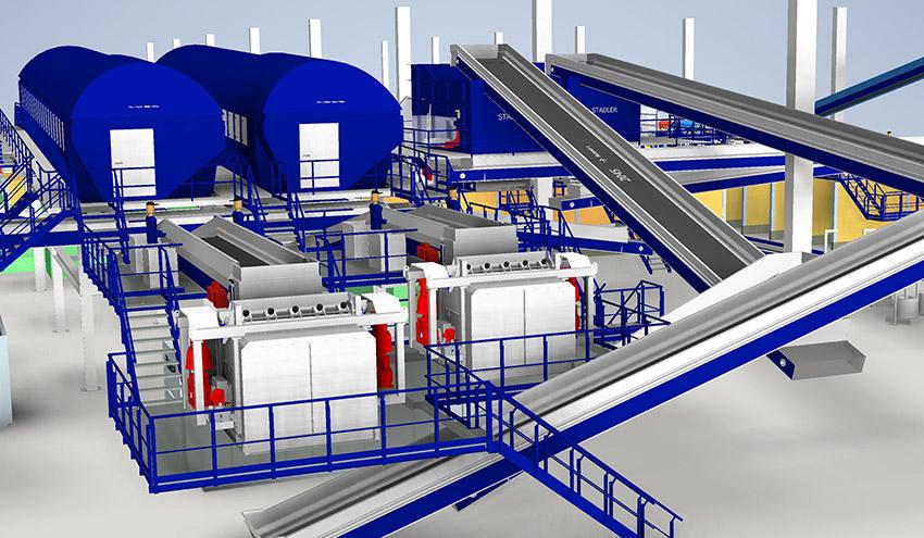 STADLER participa en la construcción de la mayor planta de selección mecánica de Brasil