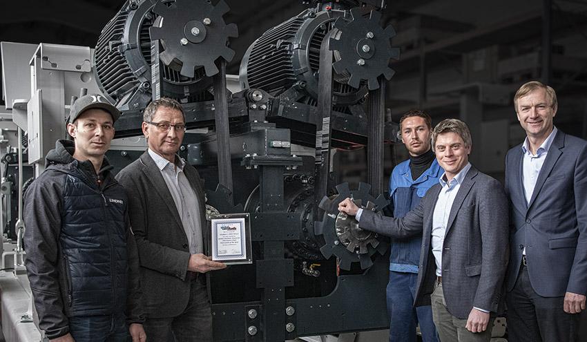 El sistema DEX de Lindner gana el Premio Global CemFuels a la Innovación del Año