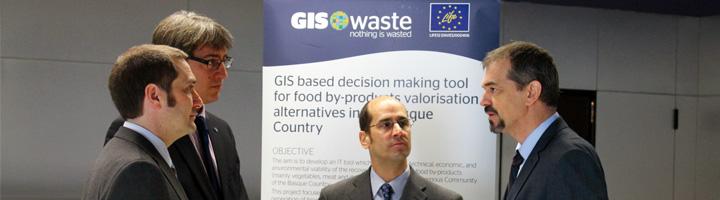 Proyecto GISWASTE, alternativas para el aprovechamiento del 70% de los residuos agroalimentarios de Euskadi