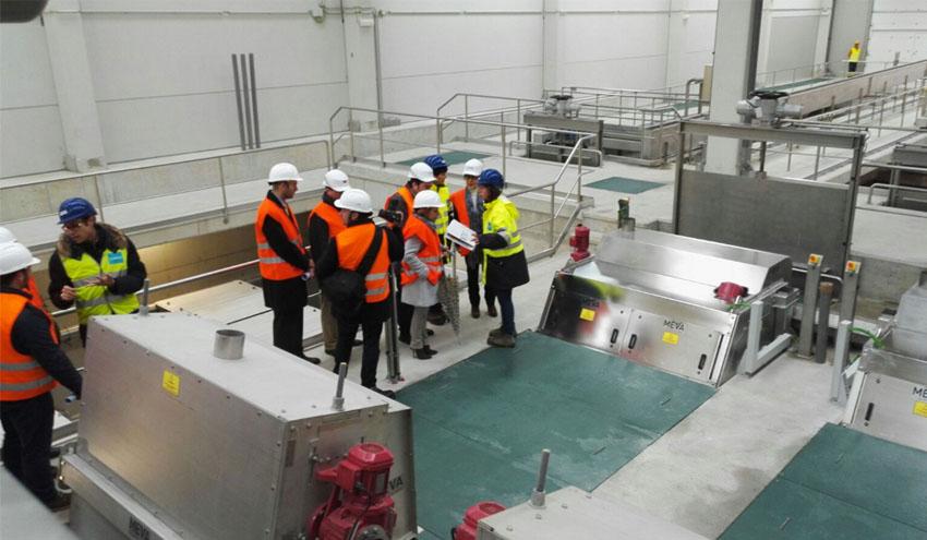 Arranca la nueva línea de agua de la depuradora de Villapérez en Oviedo