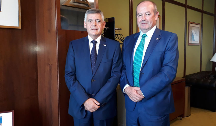 Kepa Odriozola, nuevo presidente del Consorcio de Aguas Bilbao Bizkaia