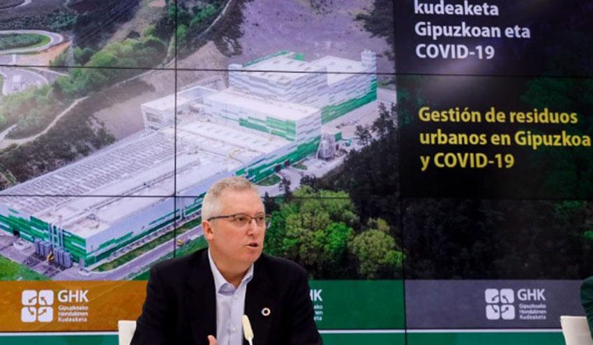 La generación de residuos en Gipuzkoa aumenta un 6,7% durante el confinamiento