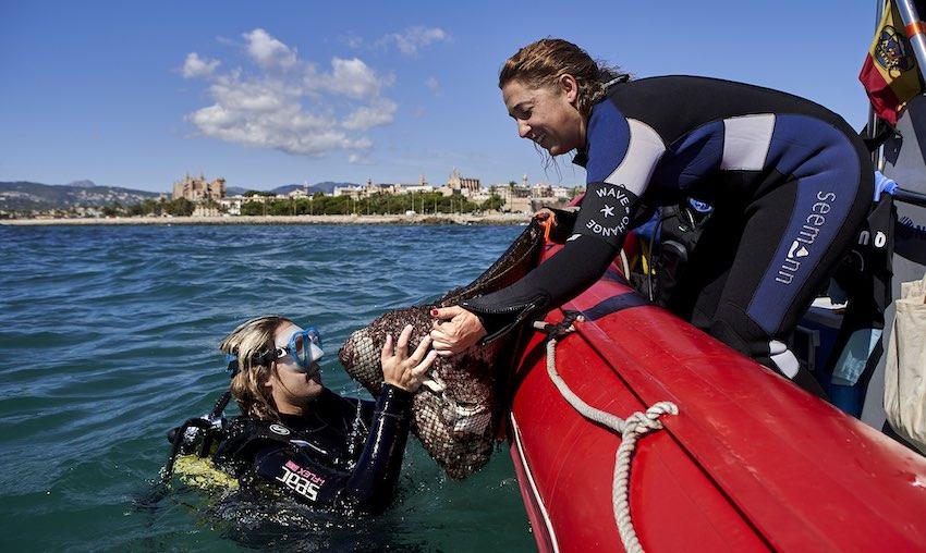 Los Héroes LIBERA caracterizan cerca de 20.500 residuos en la última edición de '1m2 por las playas y los mares'