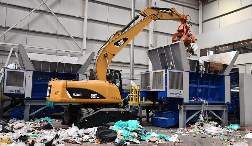 Eggersmann construye una planta de reciclado en Dubái para los residuos del mayor parque industrial offshore