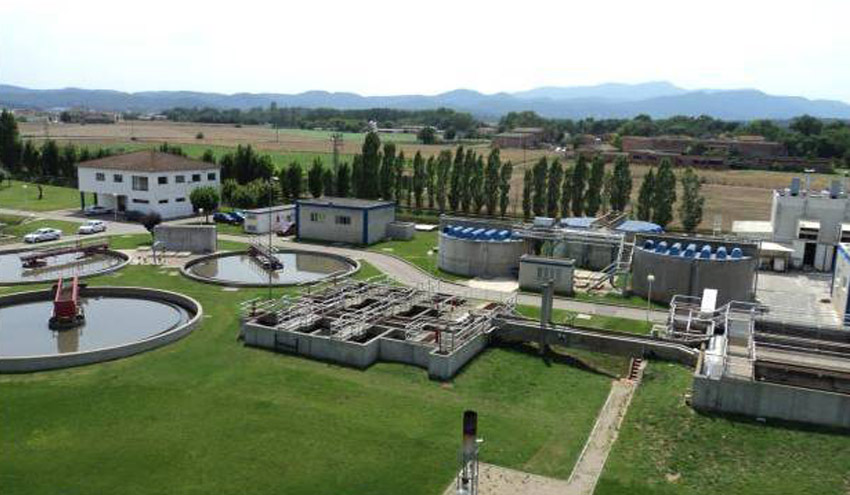 La Agencia Catalana del Agua licita las mejoras del tratamiento de la depuradora de Banyoles