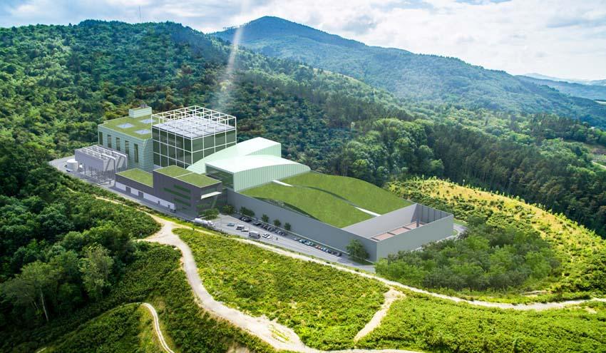 La UTE liderada por Urbaser se adjudica la construcción del Complejo Medioambiental de Gipuzkoa