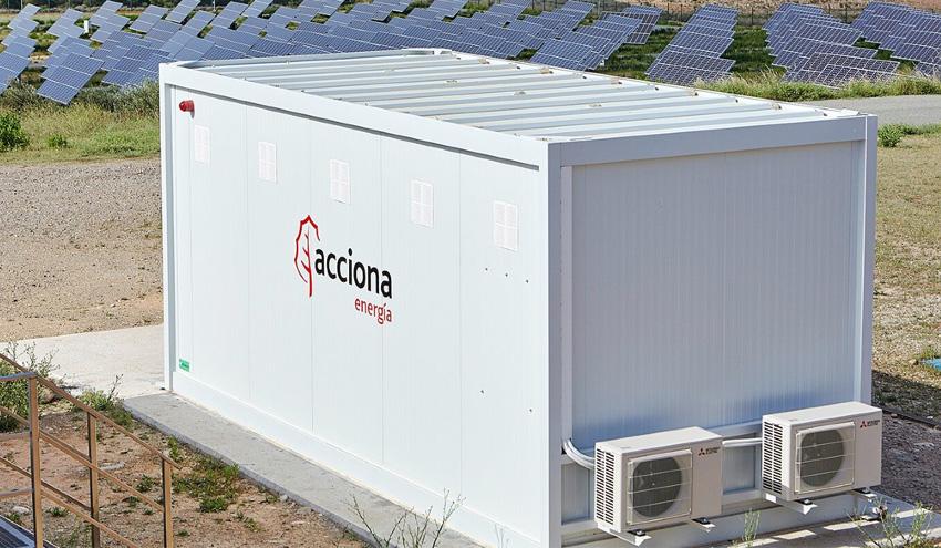 ACCIONA testea el rendimiento de baterías recicladas en el almacenamiento de energía renovable