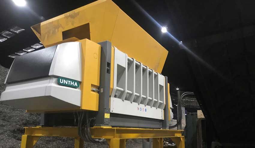 Lancashire Waste aumenta la capacidad de producción de CSR con nuevas trituradoras de UNTHA