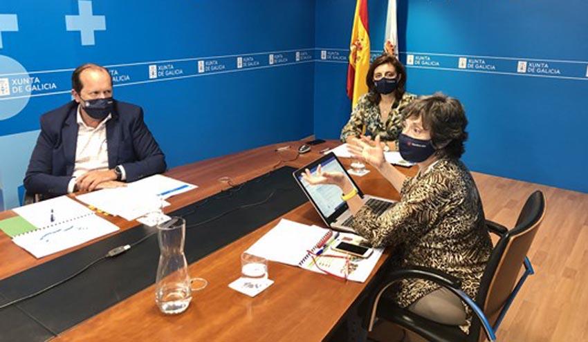 La Xunta pide apoyo a la Fegamp para evitar que se adelante la recogida de los biorresiduos