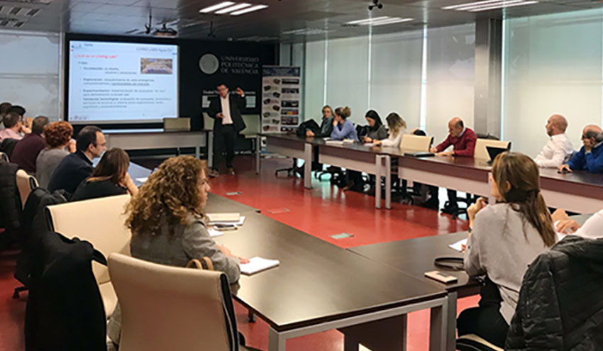 El proyecto para la creación de 'Living Labs en agua en la Comunitat Valenciana'celebra sus talleres temáticos
