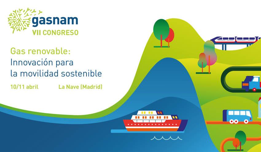 El VII Congreso de GASNAM pondrá el foco en el gas renovable como combustible para movilidad