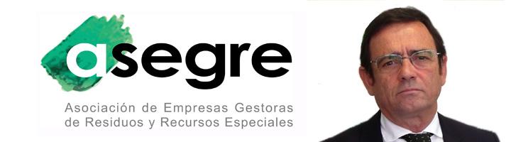 Santiago Ortiz, nuevo presidente de la Asociación de Empresas Gestoras de Residuos y Recursos Especiales (ASEGRE)
