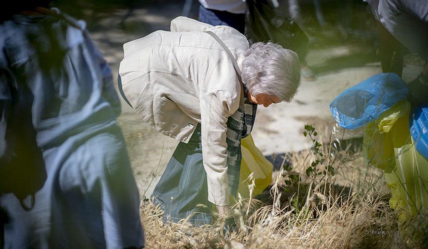 LIBERA y la Fundación Reina Sofía continuarán luchando juntos contra la basuraleza