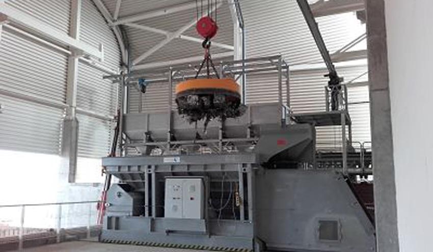 FELEMAMG suministra dos electroimanes y un tambor magnético para una importante fundición en Portugal