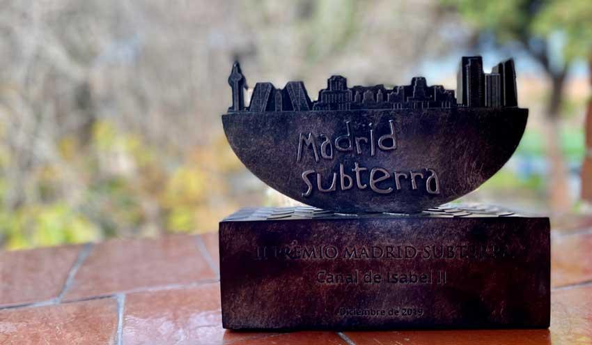 Canal de Isabel II recibe el premio Madrid Subterra por su compromiso con la eficiencia energética