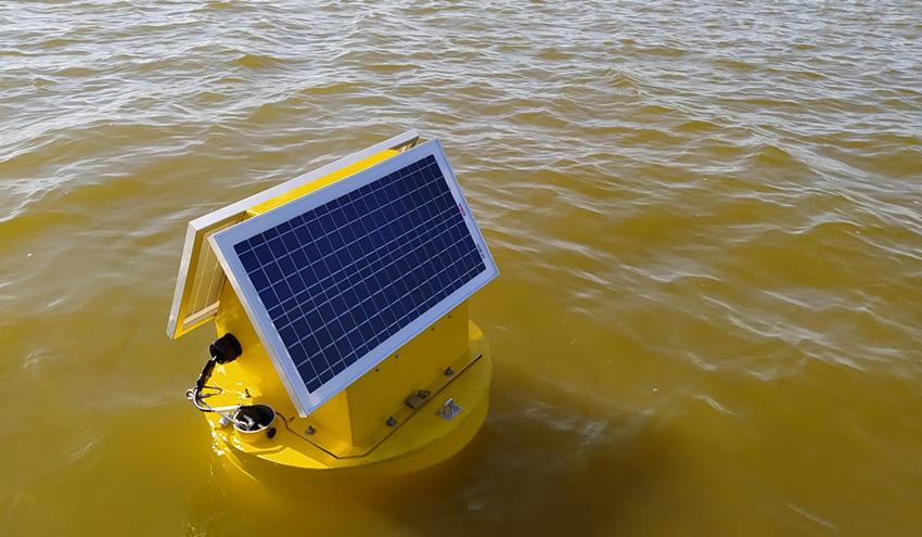 Boyas inteligentes para seguir en tiempo real afloramientos nocivos de algas
