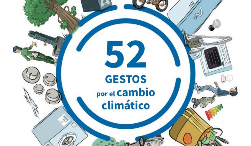 El Gobierno Vasco edita una guía sobre cómo hacer frente al cambio climático con 52 gestos cotidianos
