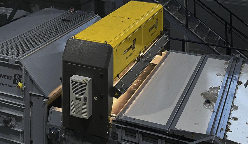 STEINERT presenta el UniSort Film EVO 5.0: nuevo clasificador NIR para films, papel y fibras