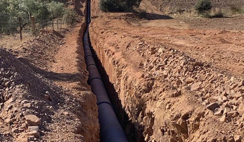 Mejora de la ETAP y red de alta para el abastecimiento del municipio de El Condado en Jaén