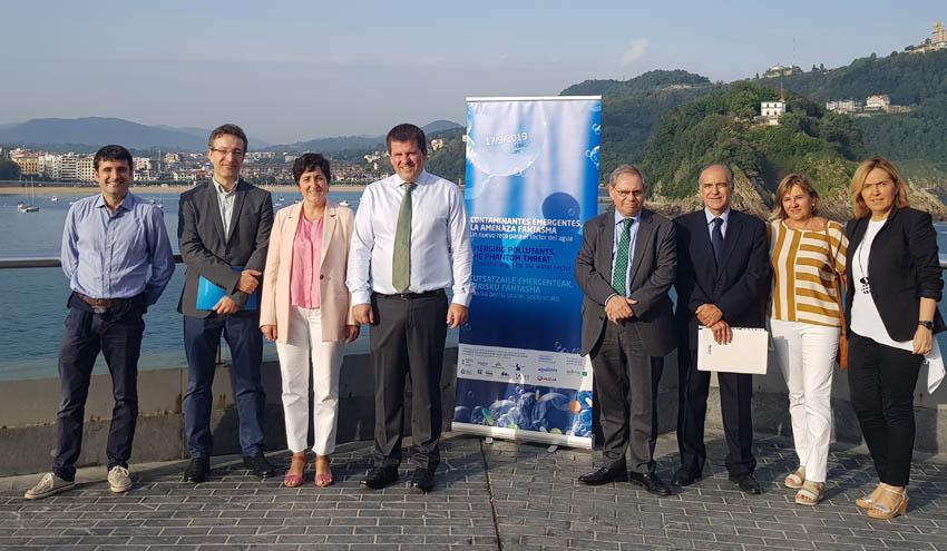 Las entidades públicas de agua de Euskadi y Aclima organizan una jornada sobre Contaminantes Emergentes