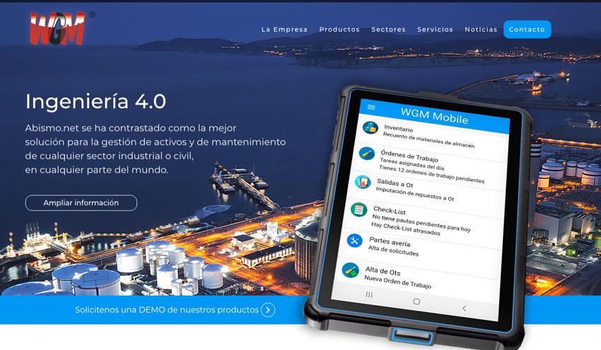 WGM lanza su nueva página web