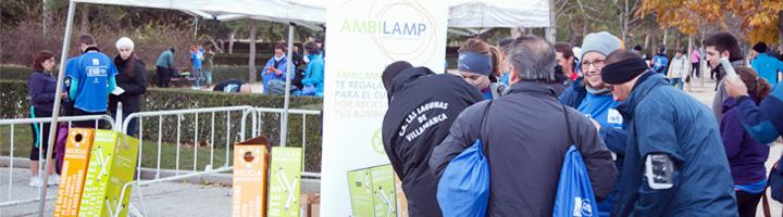 Ambilamp recoge más de 3.000 bombillas en la 5ª Carrera Ponle Freno celebrada en Madrid