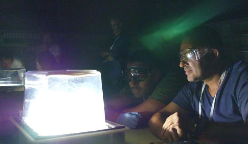 Docentes españoles amplían su formación en ciencias en el CERN gracias a una beca de Fundación Aquae