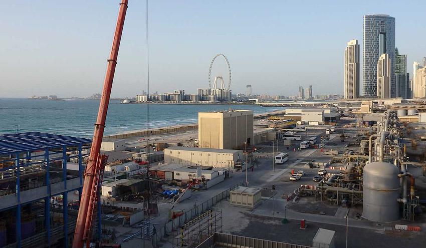 La desalinizadora de Jebel Ali de ACCIONA ya produce agua a plena capacidad para suministro en la red de Dubái