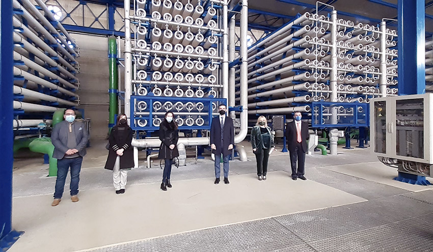 Presentado el proyecto de la desaladora Mar de Alborán, solución al déficit hídrico en Almería