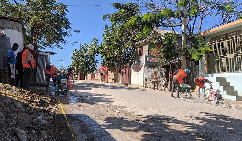 Incatema comienza el montaje de tuberías del sistema de agua potable de la villa de Jeremie en Haití