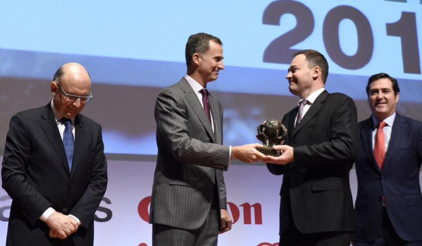 Molecor, premiada como mejor PYME del año en los II Premios CEPYME
