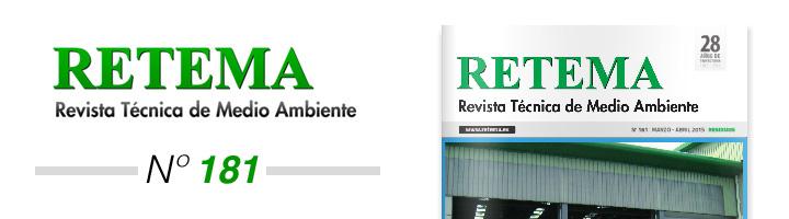 Ya disponible la edición Marzo/Abril de RETEMA, número especial y monográfico al sector residuos