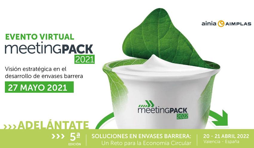 Más de 130 empresas del sector del envase confirman su asistencia a MeetingPack virtual 2021