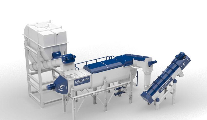 Lindner Washtech lanza un nuevo sistema de lavado en caliente para una recuperación efectiva del plástico