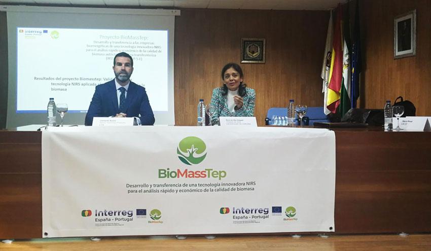El proyecto Biomasstep presenta una novedosa tecnología para analizar la calidad de la biomasa