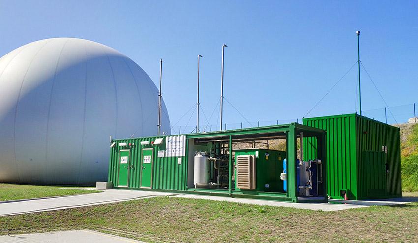 La segunda fase de la Unidad Mixta de Gas Renovable investigará el hidrógeno verde obtenido de las aguas residuales