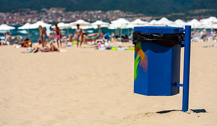 El reciclaje va contigo  de vacaciones