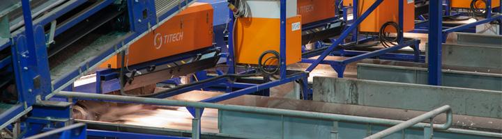 El Ecoparc 4 confía en TOMRA Sorting Recycling para la automatización de los procesos de separación