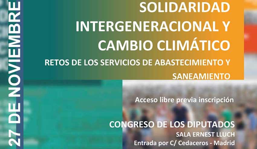 AEAS y AGA celebrarán el seminario: Solidaridad intergeneracional y cambio climático